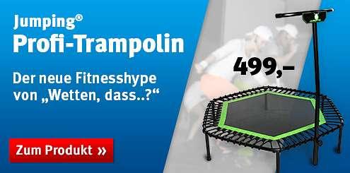 Das Jumping® Profi-Trampolin im Shop