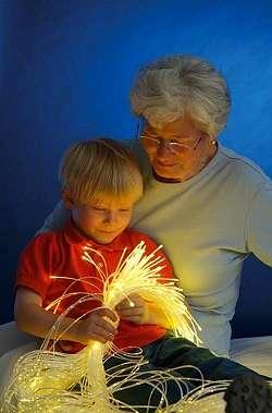Snoezelen mit älteren Menschen oder auch mit Kindern