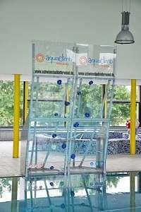 AquaClimb® Schwimmbadkletterwand