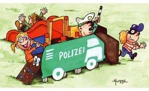 """Schnulli-Parc """"Polizeiauto"""""""