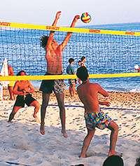BeachvolleyballSpiel