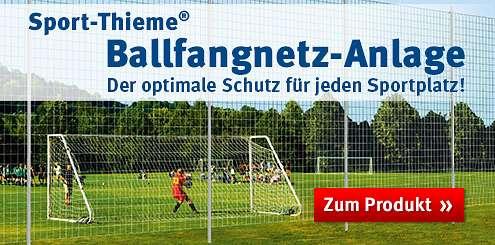 Ballfangnetzanlage