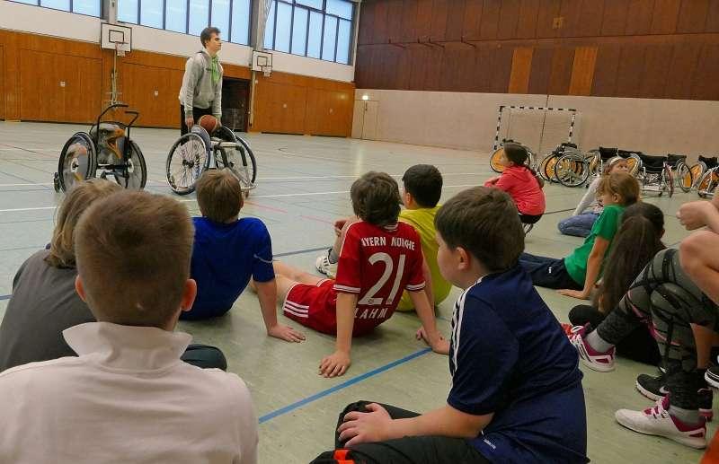 Veranstaltung Behindertensport Julianum