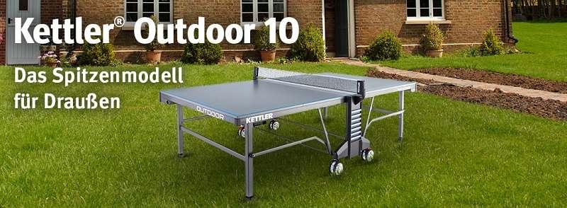"Teaser Kettler® Tischtennisplatte ""Outdoor 10"""