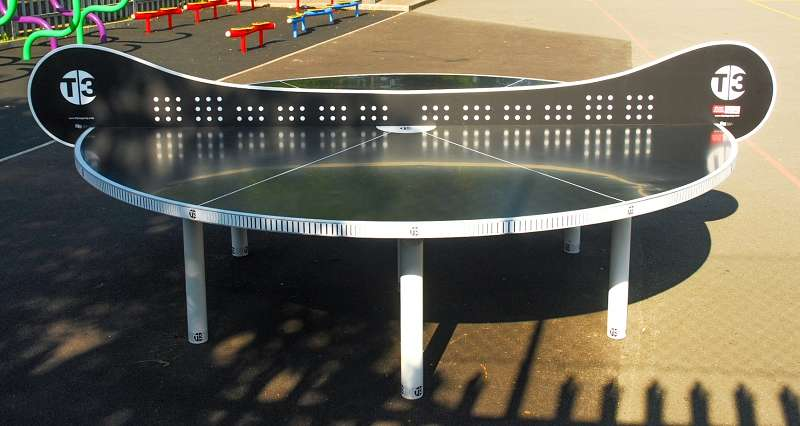 "T3 Ping Pong Tischtennisplatte ""Tournament Outdoor"""