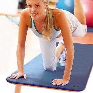 Gymnastikmatte Frau