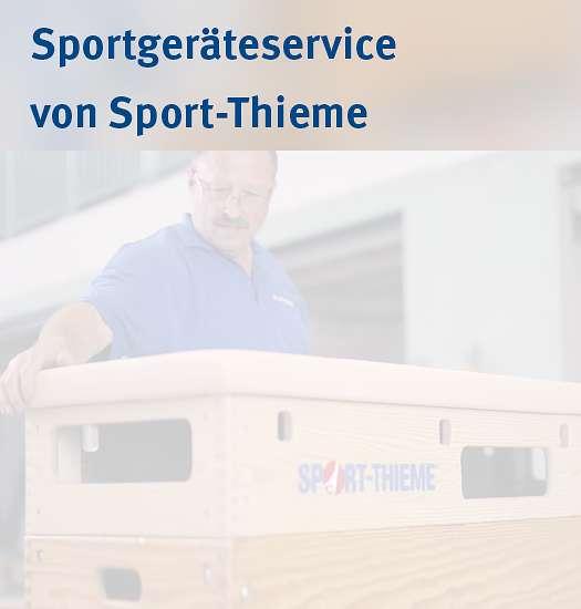 Sportgeräteservice von Sport-Thieme