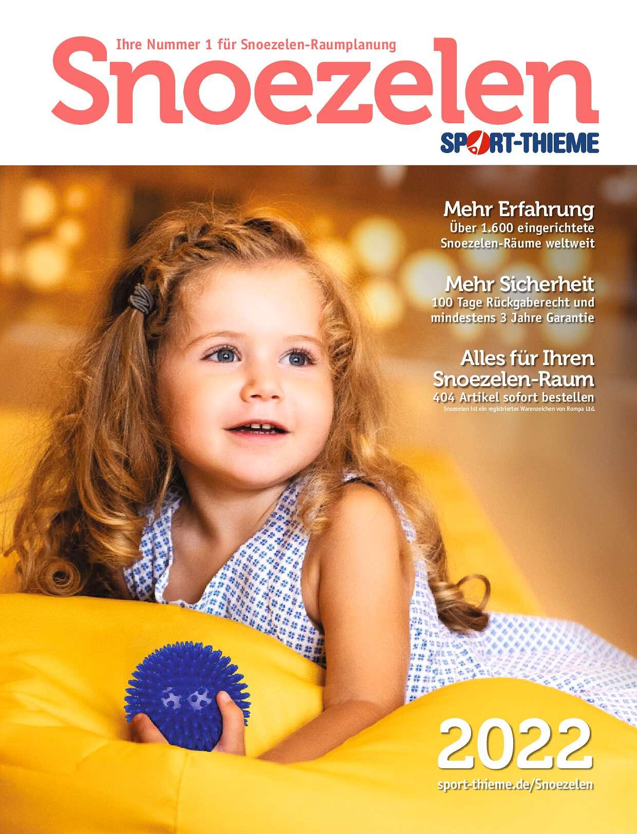 Snoezelen Katalog 2019 von Sport-Thieme