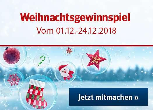 Sport-Thieme Weihnachtsgewinnspiel