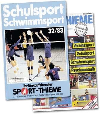 Sport-Thieme: Kataloge 1983