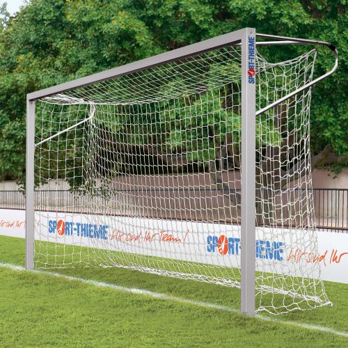 Sport-Thieme Jugendfußballtor 5x2 m, Quadratprofil, in Bodenhülsen stehend
