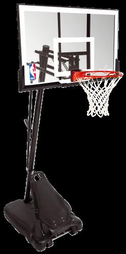 "Spalding ""NBA Gold Exacta High Lift Portable"" Basketball Unit"
