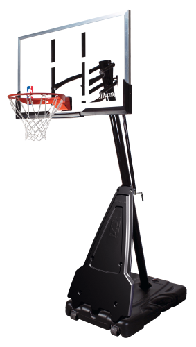 "Spalding Basketballanlage  ""NBA Platinum Helix Lift Portable"""