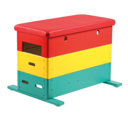 """""""Vario"""" Mini 3-Part Multicoloured Vaulting Box"""