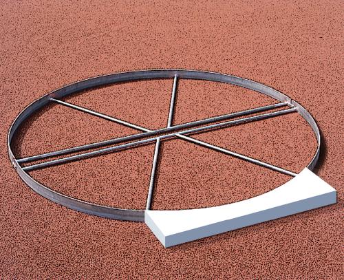 Sport-Thieme Befestigungs-Set für Abstoßbalken