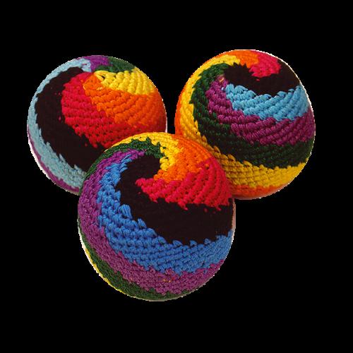 """Rasta Rainbow"" Juggling Beanbags"