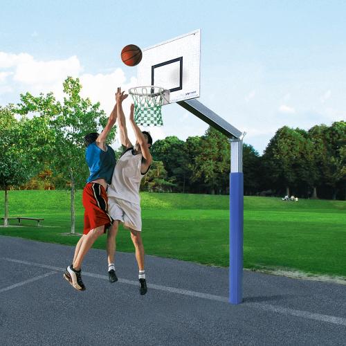 """Sport-Thieme Basketballanlage  """"Fair Play"""" mit Herkulesseil-Netz"""