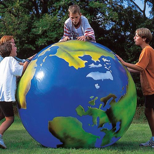 Togu Globe with Continent Imprint