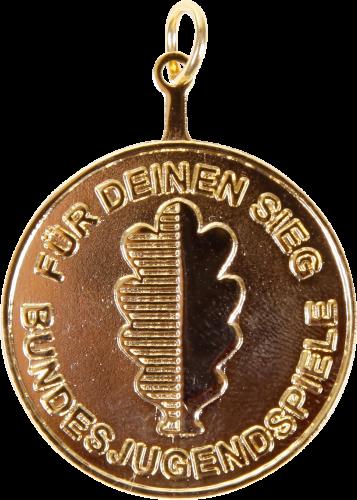 Medaille für Bundesjugendspiele, ø 30 mm