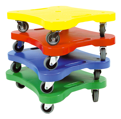 Scooter-Board 4er Set