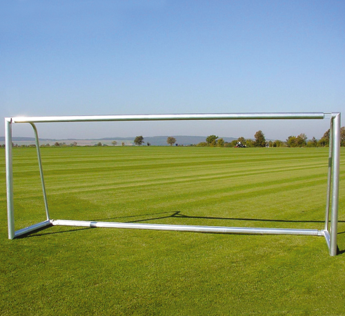 Sport-Thieme Alu-Fußballtore, 7,32x2,44 m, teilverschweißt, mit Bodenrahmen