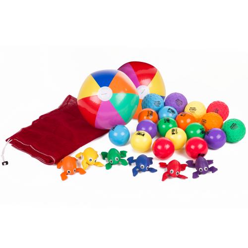 Spordas Zubehör-Pack für Schwungtuch-Spiele