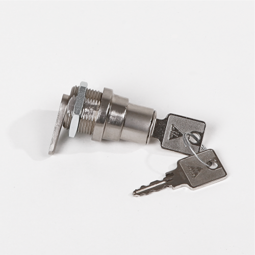 Dreh-/Druckzylinderschloss für Schiebetürenschränke