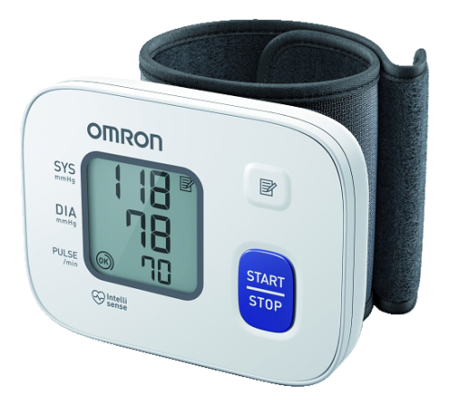 "Omron ""RS2"" Wrist Blood Pressure Monitor"