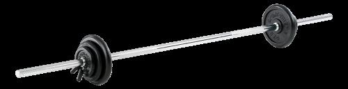 Sport-Thieme Langhantel-Set, 52,5 kg oder 77,5 kg