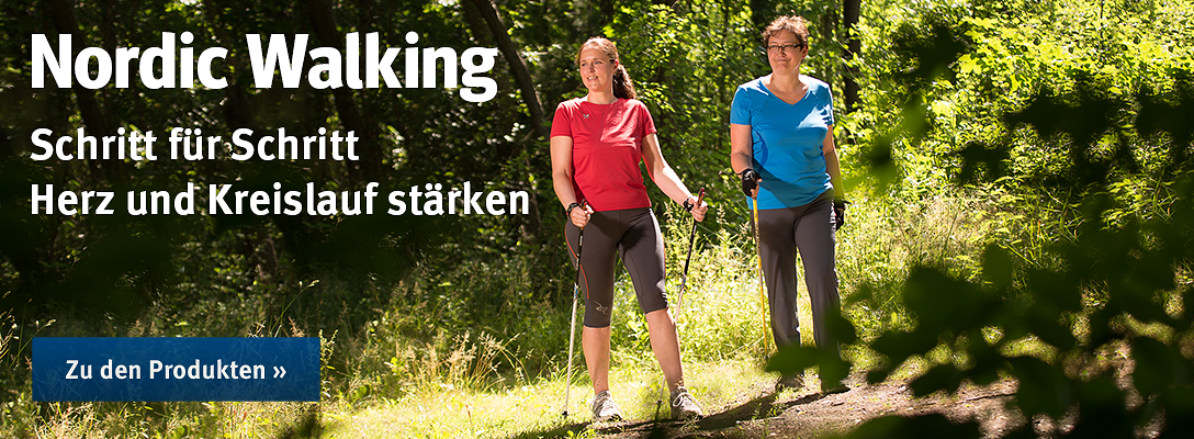 Nordic Walking bei Sport-Thieme