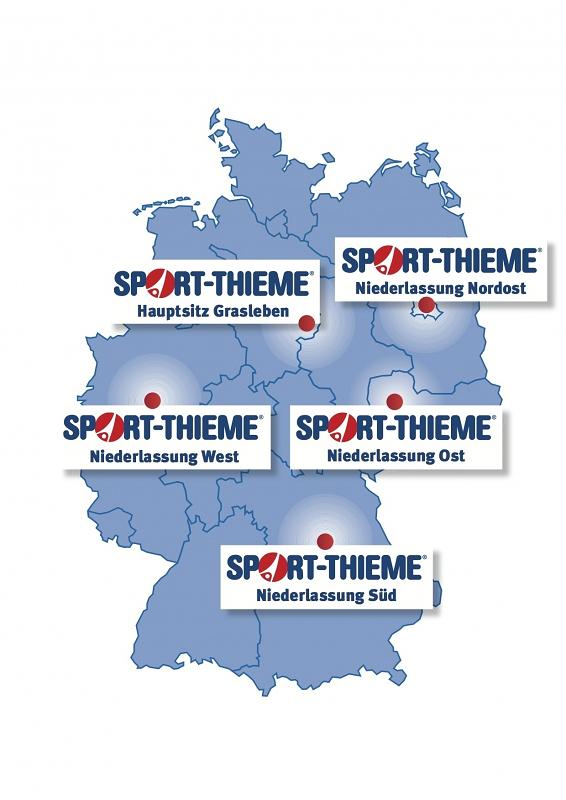 Sport-Thieme Standorte in Deutschland