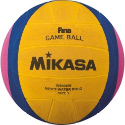 "Mikasa ""W6000W"" and ""W6009W"" Water Polo Ball"