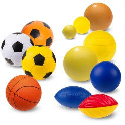 "Sport-Thieme® PU-Schaumstoffball Set ""Maxi"""