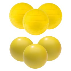 "Sport-Thieme® PU-Schaumstoffball Set ""Volleyball"""