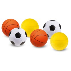 "Sport-Thieme® PU-Schaumstoffball Set ""Mix"""