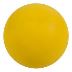 WV® Rubber Gymnastics Ball Yellow, ø 16 cm, 320 g