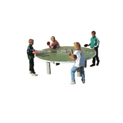 "Sport-Thieme® ""Rondo"" Polymer Concrete Table Tennis Table"