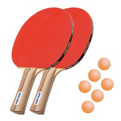 "Sport-Thieme® ""Rome"" Table Tennis Bat Set"