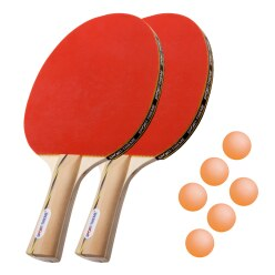 "Sport-Thieme® ""Vienna"" Table Tennis Bat Set"