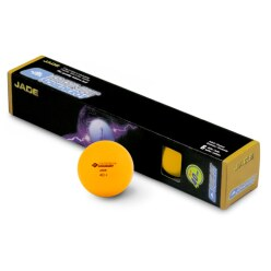 "Donic® Schildkröt ""Jade"" Table Tennis Balls Orange balls"