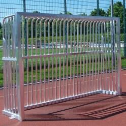 Sport-Thieme® Vollverschweißtes Bolzplatztor  300x200x60 cm, Quadratprofil 80x80 mm