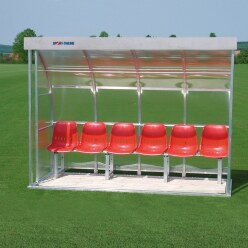 Sport-Thieme for 6 People Dugout