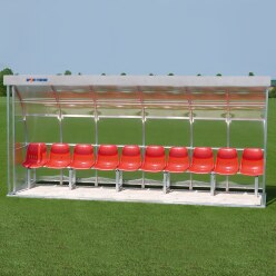 Sport-Thieme for 10 People Dugout