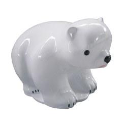 Wassersprühender Eisbär
