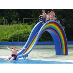 """Wasserrutsche """"Big New Rainbow"""""""