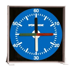 "Sport-Thieme® ""Prima Super"" Training Clock 30x30 cm, desktop version"
