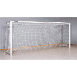 Sport-Thieme® Indoor Football Goal, 5x2 m 80x80-mm square tubing