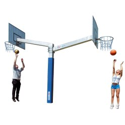 "Sport-Thieme® Basketballanlage ""Fair Play Duo"""