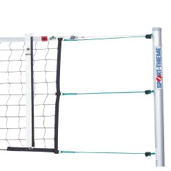 """DVV I"" Volleyball Tournament Net with Guide Pulley"