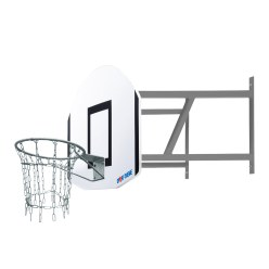 "Sport-Thieme® Basketball-Wandanlage Set ""Outdoor"""